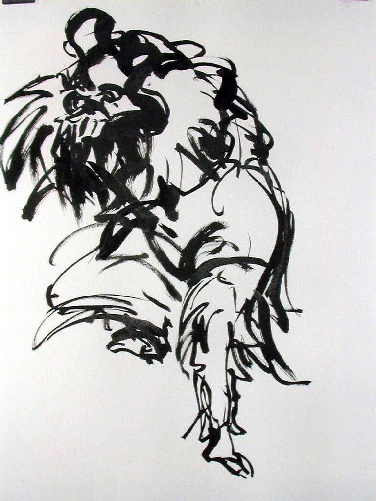 41_leone cinese cm 50x70 china 2004g