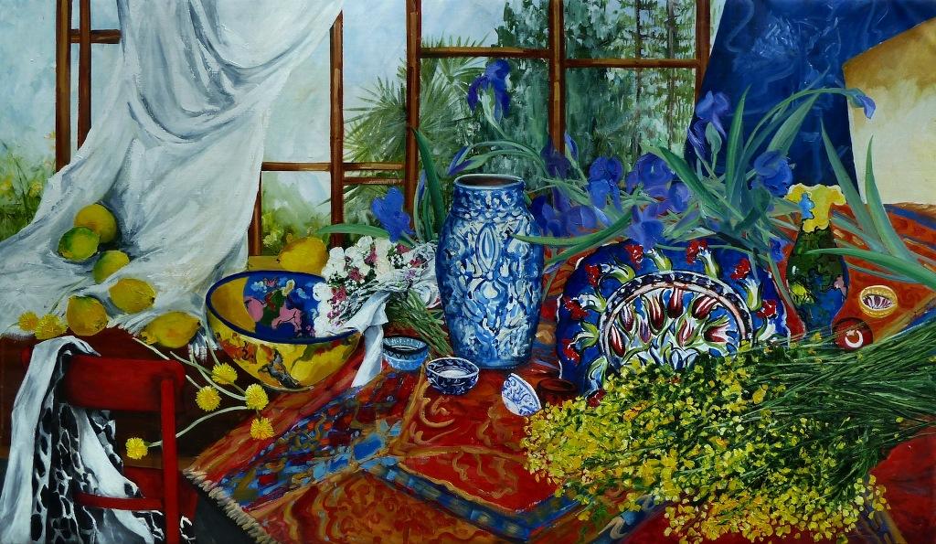 05_ceramiche turche_olio  su tela cm 200x114_2011