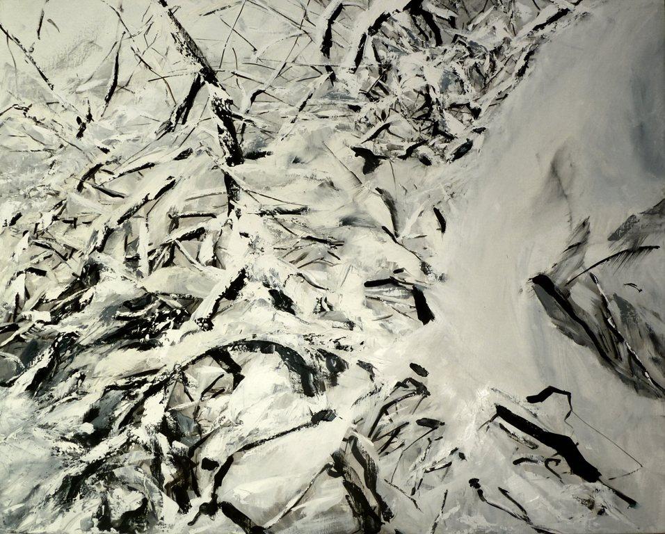 37_nevicata _olio su tela cm 104x85